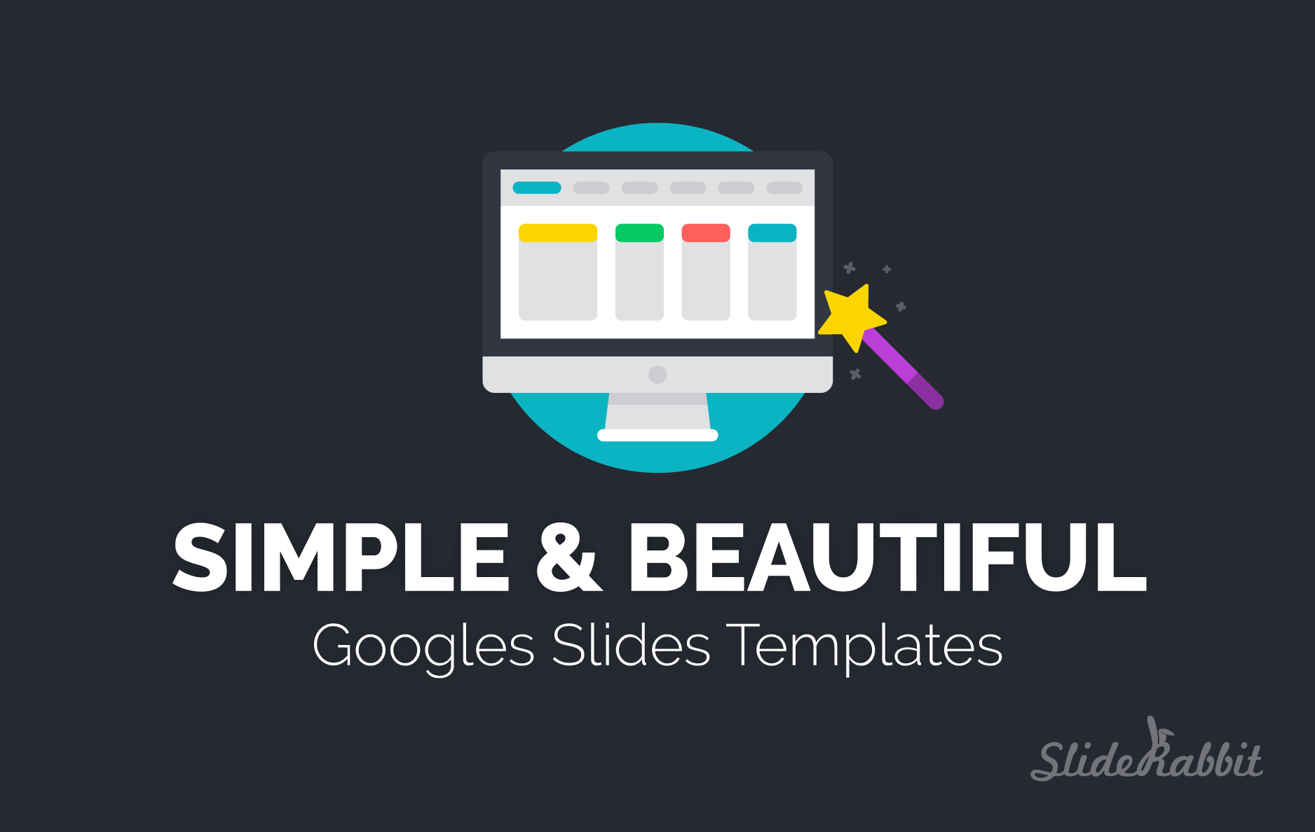 Google Slides Template Design: Simple & Beautiful | SlideRabbit